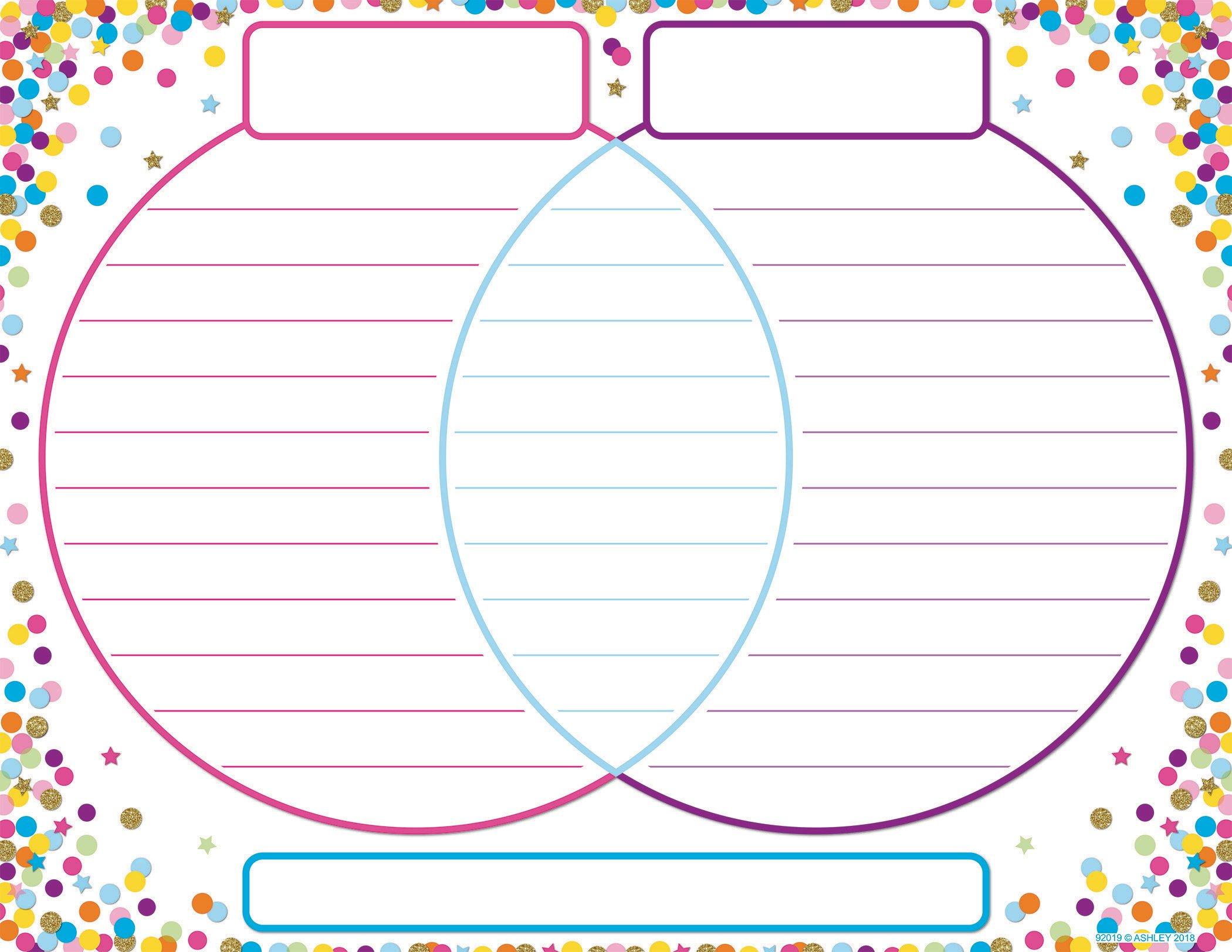 17x22 Confetti Venn Diagram Poly Chart Bell 2 Bell